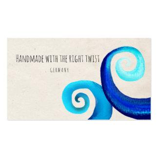 Swirls business cards