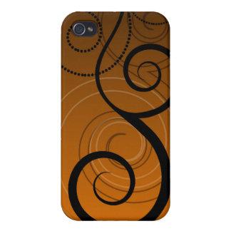 Swirls Decor i iPhone 4/4S Cases
