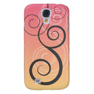 Swirls Decor  Samsung Galaxy S4 Case