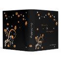Swirls & Flowers Elegant Wedding Planner Album binder