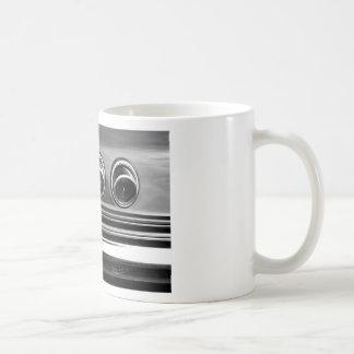 Swirls in bw coffee mug