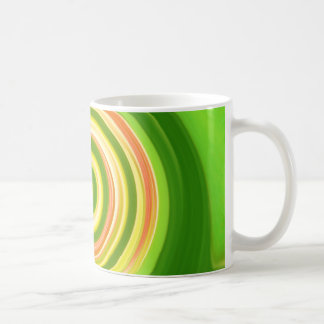 Swirls in earth tones - mug