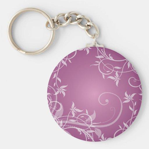Swirls Keychain