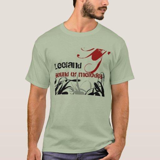 swirls, Leeland, sound of melodies T-Shirt