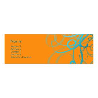 Swirls No. 0003 Business Card