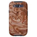 Swirls of Chocolate Samsung Galaxy SIII Case