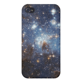 Swirls of gas and dust cover for iPhone 4