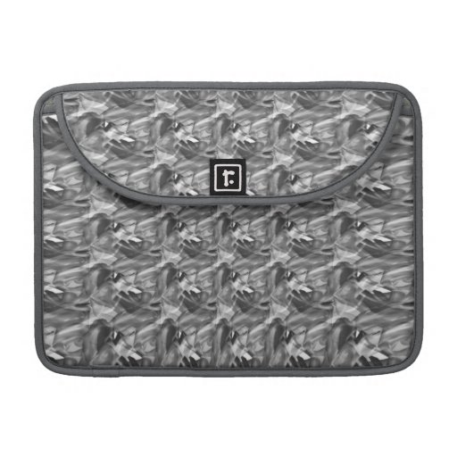 Swirls of Gray Abstract Mac Book Pro Sleeve Sleeve For MacBook Pro