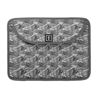 Swirls of Gray Abstract Mac Book Pro Sleeve Sleeves For MacBooks