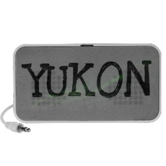 Swirls of Light; Yukon Territory Souvenir Notebook Speaker