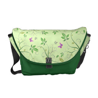 Swirls of Spring Courier Bag