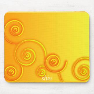 Swirls, shiv mouse pad