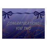 Swirls Stars and Bows Set Greeting Card