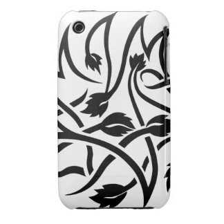 Swirls Tattoo iPhone 3/3GS Barely There Case iPhone 3 Cases
