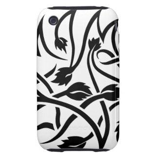 Swirls Tattoo iPhone 3 3GS Tough Case Tough iPhone 3 Cover