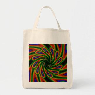Swirls Tote Grocery Tote Bag