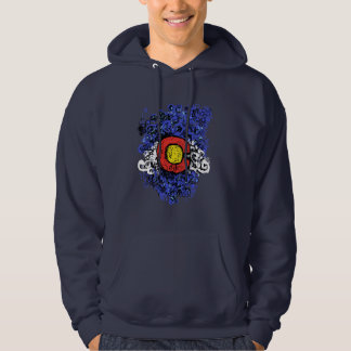 Swirly Abstract Colorado Flag Hoodie