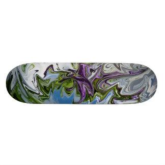 Swirly Abstract Skateboard