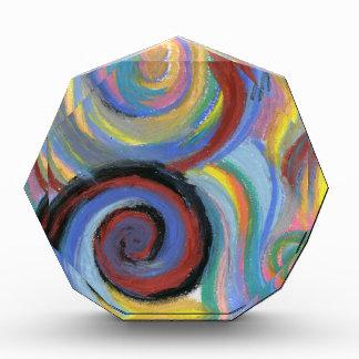 Swirly Acrylic Award