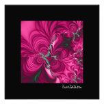 Swirly · Arte del fractal · Rosa y verde Anuncio