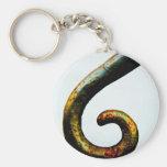 Swirly Banister Basic Round Button Keychain
