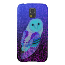 Swirly Barn Owl Galaxy S5 Cover