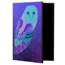Swirly Barn Owl iPad Air Case