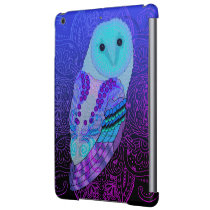 Swirly Barn Owl iPad Air Cover