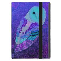 Swirly Barn Owl iPad Mini Case