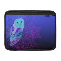 Swirly Barn Owl MacBook Sleeve