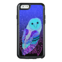 Swirly Barn Owl OtterBox iPhone 6/6s Case