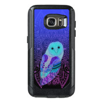 Swirly Barn Owl OtterBox Samsung Galaxy S7 Case