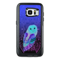 Swirly Barn Owl OtterBox Samsung Galaxy S7 Edge Case
