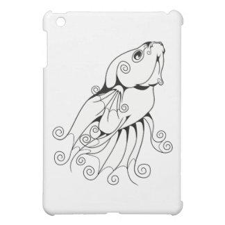 Swirly Betta 1 Cover For The iPad Mini