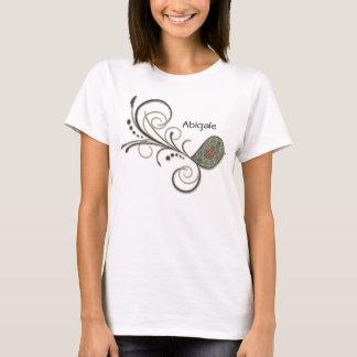 Swirly Bird Folk Art T-Shirt