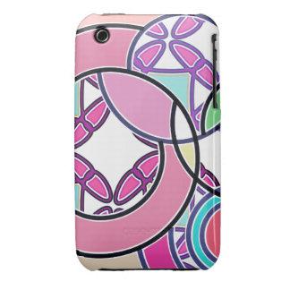 Swirly Bubblegum Pop Pink iPhone 3/3GS case