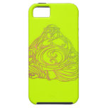 Swirly Buda iPhone 5 Protectores