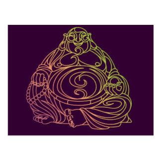 Swirly Buda Tarjetas Postales