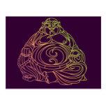 Swirly Buddha Postcards