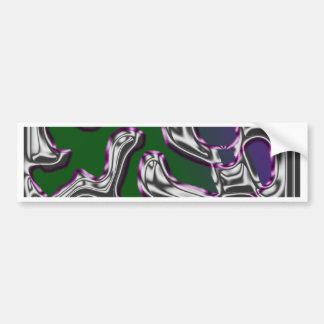 Swirly Bumper Sticker