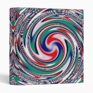 Swirly Burly Abstract Binder