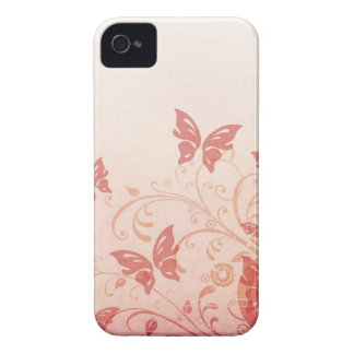 Swirly Butterflies [iphone 4] iPhone 4 Case-Mate Case