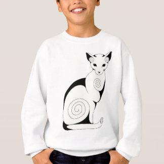 Swirly Cat Sweatshirt
