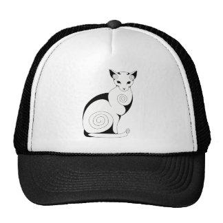 Swirly Cat Trucker Hat