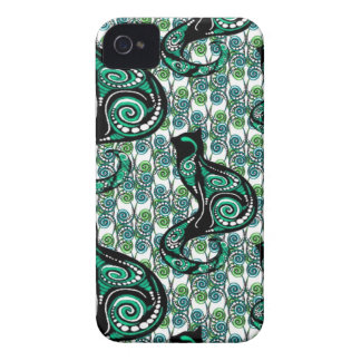 SWIRLY CATS iPhone 4 COVER