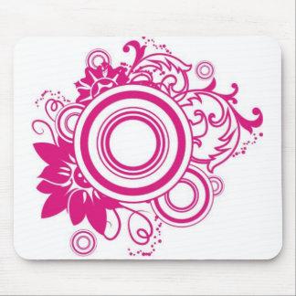 swirly_circles mouse pad