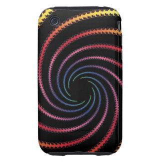 Swirly Design iPhone 3 Tough Case