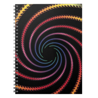 Swirly Design Notebooks