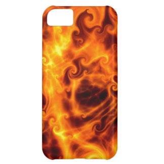 Swirly Flames iPhone 5C Cases