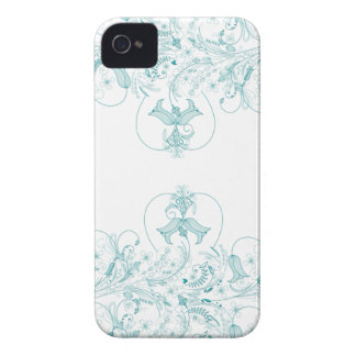 Swirly Floral iPhone 4 Case
